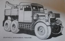 Scammell.Drivers handbook. for Tractor 6x4, Heavy Artillery and Breakdown.